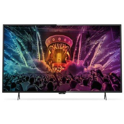 ЖК телевизор Philips 55 55PUT6101/60 черный (55PUT6101/60)ЖК телевизоры Philips<br>Телевизор LED Philips 55 55PUT6101/60 черный/Ultra HD/800Hz/DVB-T/DVB-T2/DVB-C/USB/WiFi/Smart TV (RUS)<br>