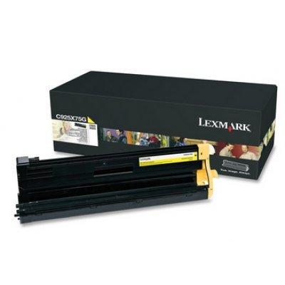 Тонер-картридж для лазерных аппаратов Lexmark C925 жёлтый повышенной ёмкости (C925H2YG)Тонер-картриджи для лазерных аппаратов Lexmark<br>C925 жёлтый картридж повышенной ёмкости<br>