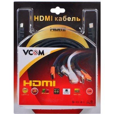 Кабель HDMI VCOM VHD6020D-15MB 15M V1.4+3D (VHD6020D-15MB)