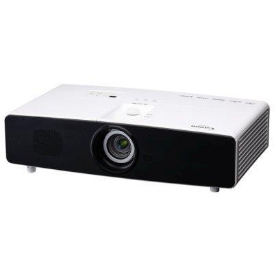 Проектор Canon LX-MW500 (0967C003)Проекторы Canon<br>Проектор Canon LX-MW500 (DLP, WXGA 1280x800, 5000Lm, 3750:1, HDMI, LAN, MHL, 2x10W speaker, lamp 2500hrs, WHITE, 5.4kg)<br>