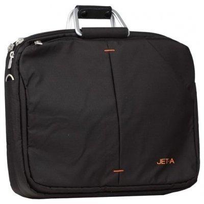 Сумка для ноутбука Jet.A LB15-28 черный (LB15-28)Сумки для ноутбуков Jet.A<br>Сумка для ноутбука Jet.A LB15-28 до 15,6 (Черный, качественный нейлон/полиэстер, современный дизайн<br>
