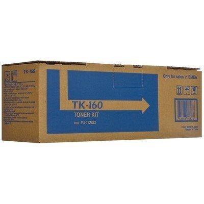 Тонер-картридж для лазерных аппаратов Kyocera TK-160 черный для FS P2035D/1120D/DN (2500стр.) (1T02LY0NLC) картридж colouring cg tk 1120 для kyocera fs 1060dn 1125mfp 1025mfp