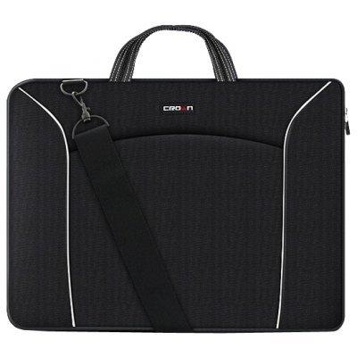 Сумка для ноутбука Crown CMB-435 черный (CMB-435)Сумки для ноутбуков Crown<br>Сумка для ноутбука CROWN CMB-435 (black) 15,6<br>