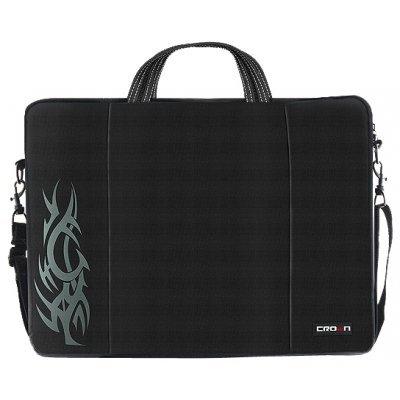 Сумка для ноутбука Crown CMB-437 черный (CMB-437)Сумки для ноутбуков Crown<br>Сумка для ноутбука CROWN CMB-437 (black) 15,6<br>