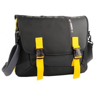 Сумка для ноутбука Crown CMCCH-3315BBY черный/желтый (CMCCH-3315BBY)