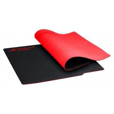 Коврик для мыши ASUS Rog whetstone черный/красный (90MP00C1-B0UA00)Коврики для мыши ASUS<br>Коврик для мыши Asus Rog WHETSTONE черный/красный<br>