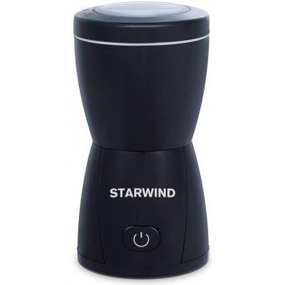 Кофемолка StarWind SGP8426 черный (SGP8426)Кофемолки StarWind <br>Кофемолка Starwind SGP8426 200Вт сист.помол.:ротац.нож вместим.:80гр черный<br>