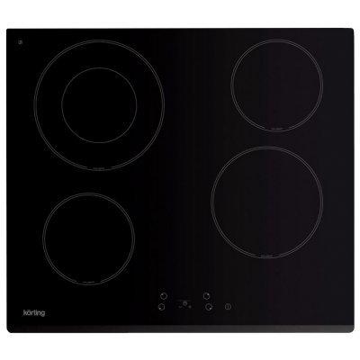 купить Электрическая варочная панель Korting HK 62001 B (HK 62001 B) онлайн