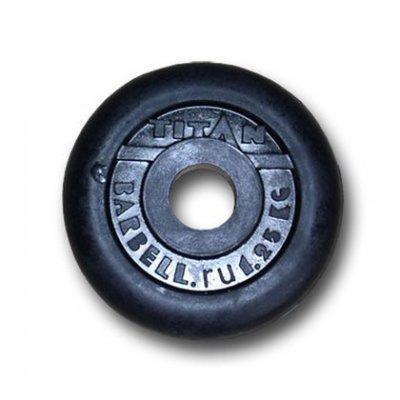 Блин для гантели и штанги Titan d.31/1.25кг (ДИСК D31/1.25)