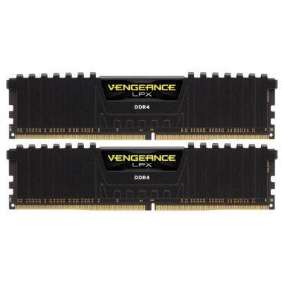 Модуль оперативной памяти ПК Corsair CMK32GX4M2A2400C16 32Gb DDR4 (CMK32GX4M2A2400C16)Модули оперативной памяти ПК Corsair<br>Память DDR4 2x16Gb 2400MHz Corsair CMK32GX4M2A2400C16 RTL PC4-19200 CL16 DIMM 288-pin 1.2В<br>