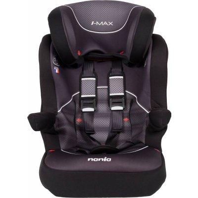 Детское автокресло Nania I-Max SP от 9 до 36 кг (1/2/3) черный/серый (903076)