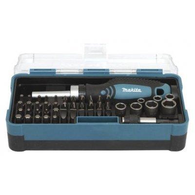 Набор инструментов Makita B-36170 47 предметов (B-36170)Наборы инструментов Makita<br>набор инструментов торцевые головки и биты<br>количество предметов: 47<br>биты, 38 шт<br>торцевые головки, 7 шт<br>кейс в комплекте<br>