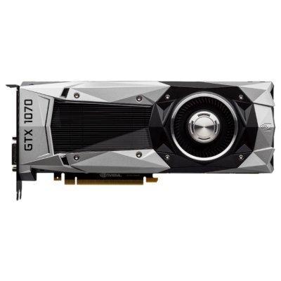 ���������� �� MSI GeForce GTX 1070 1506Mhz PCI-E 3.0 8192Mb 8008Mhz 256 bit DVI HDMI HDCP (GTX 1070 FOUNDERS)