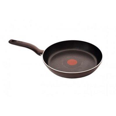 Сковорода Tefal Tendance Black Current 28см ВОК (9100020260)Сковороды Tefal<br>Вок Tefal Tendance Black Current 28см. круглая алюминий темно-синий<br>