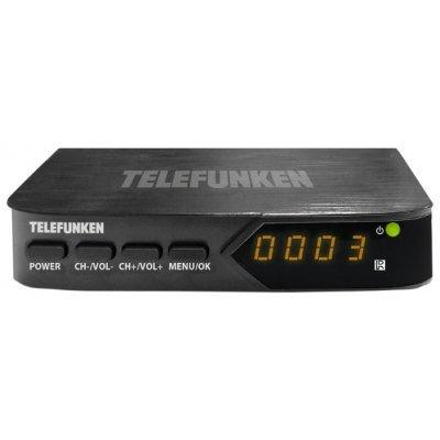 ТВ-тюнер внешний Telefunken TF-DVBT210 (TF-DVBT210)ТВ-тюнеры внешние Telefunken<br>внешний TV-тюнер, цифровой<br>работает без компьютера<br>вывод HD-изображения<br>пульт ДУ<br>