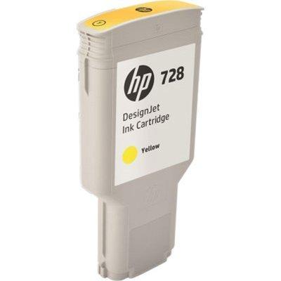 Картридж для струйных аппаратов HP 728 300-ml Yellow InkCart (F9K15A)Картриджи для струйных аппаратов HP<br>Картридж для струйных аппаратов HP 728 300-ml Yellow InkCart<br>