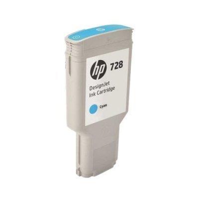 Картридж для струйных аппаратов HP 728 300-ml Cyan InkCart (F9K17A)Картриджи для струйных аппаратов HP<br>Картридж для струйных аппаратов HP 728 300-ml Cyan InkCart<br>