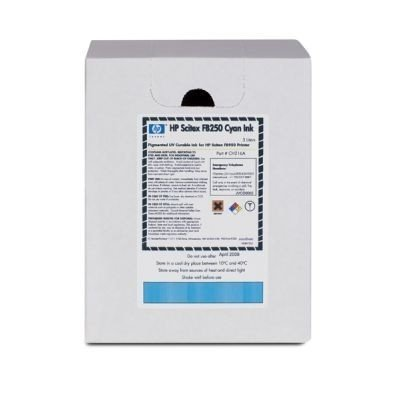 картридж для струйных аппаратов hp 980 d8j10a черный d8j10a Картридж для струйных аппаратов HP Scitex FB250 Cyan Ink (CH216A)