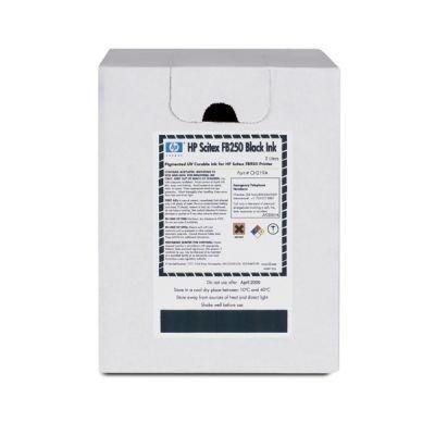 картридж для струйных аппаратов hp 980 d8j10a черный d8j10a Картридж для струйных аппаратов HP Scitex FB250 Black Ink (CH219A)