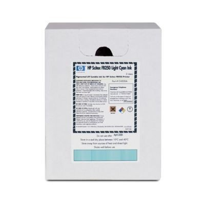 картридж для струйных аппаратов hp 980 d8j10a черный d8j10a Картридж для струйных аппаратов HP Scitex FB250 Light Cyan Ink (CH220A)