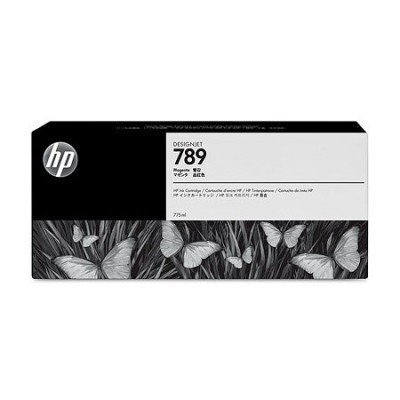 Картридж для струйных аппаратов HP 789 CH617A 775-ml Magenta Latex Designjet Ink Cartridge (CH617A) картридж для принтера hp 789 775 ml latex designjet ink cartridge light magenta