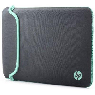 Чехол для ноутбука HP Chroma Sleeve 15.6 Grey/Grn (V5C33AA)Чехлы для ноутбуков HP<br>чехол, макс. размер экрана 15.6, материал: синтетический<br>