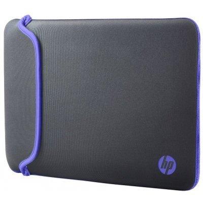 Чехол для ноутбука HP 11.6 Chroma Sleeve Grey/Pur (V5C22AA)Чехлы для ноутбуков HP<br>чехол, макс. размер экрана 11.6, материал: синтетический<br>