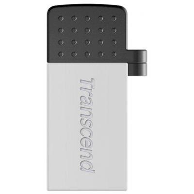 USB накопитель Transcend JetFlash 380S 8Gb (TS8GJF380S) флеш накопитель transcend 8gb jetflash 380 usb 2 0 металл золото ts8gjf380g