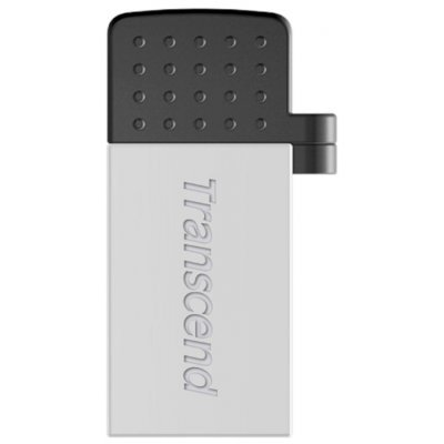 USB накопитель Transcend JetFlash 380S 8Gb (TS8GJF380S)USB накопители Transcend<br>Флеш накопитель 8GB Transcend JetFlash 380, USB 2.0, серебро золото<br>