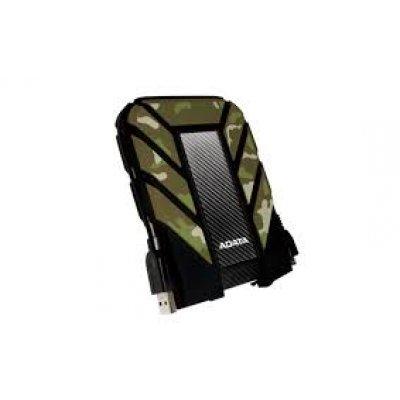 Внешний жесткий диск A-Data HD710M 1Tb (AHD710M-1TU3-CCF)Внешние жесткие диски A-Data<br>Внешний жесткий диск 1TB A-DATA HD710M, 2,5 , USB 3.0, прорезиненный, камуфляж<br>