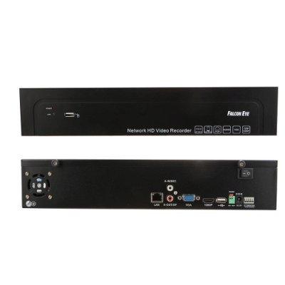 IP-видеорегистратор Falcon Eye FE-NR-5216 (FE-NR-5216)IP-видеорегистраторы Falcon Eye<br>Видеорекордер Falcon Eye FE-NR-5216 16-канальный IP видеорегистратор;   Режимы записи:25?(1280*960),<br>