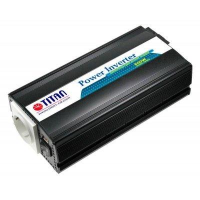 Автомобильный инвертор Titan HW-600E6 (HW-600E6), арт: 243355 -  Автомобильные инверторы Titan