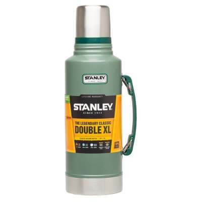 Термос Stanley Classic Vac Bottle Hertiage зеленый/серебристый (10-01032-037), арт: 243373 -  Термосы Stanley