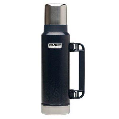 Термос Stanley Classic Vac Bottle Hertiage темно-синий/серебристый (10-01032-043)Термосы Stanley<br>Термос Stanley Classic Vac Bottle Hertiage (10-01032-043) 1.3л. темно-синий/серебристый<br>