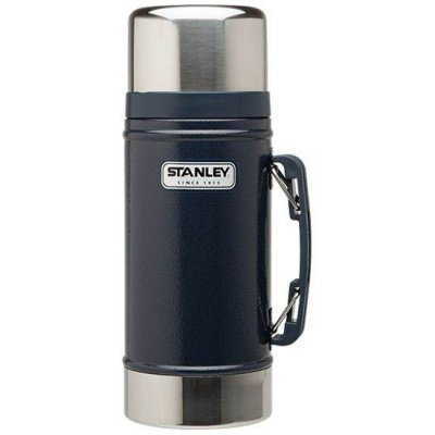 Термос Stanley Legendary Classic Food Flask синий (10-01229-027)Термосы Stanley<br>Термос Stanley Legendary Classic Food Flask (10-01229-027) 0.7л. синий<br>