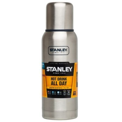 Термос Stanley Adventure 0.75л. серебристый (10-01562-017) угольник stanley комбинированный 2 46 017