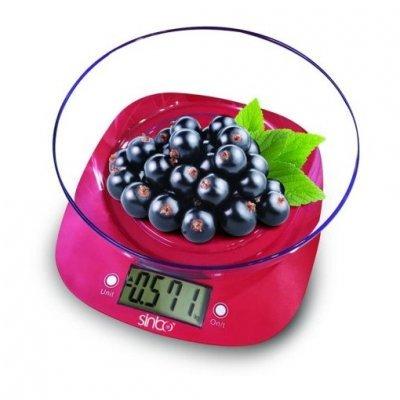 Весы кухонные Sinbo SKS 4522 розовый (SKS 4522 (Pink))Весы кухонные Sinbo<br>Весы кухонные электронные Sinbo SKS 4522 макс.вес:5кг розовый<br>