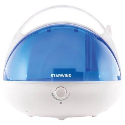 Увлажнитель и очиститель воздуха StarWind SHC2416 белый/синий (SHC2416)Увлажнитель и очиститель воздуха StarWind <br>Увлажнитель воздуха Starwind SHC2416 25Вт (ультразвуковой) белый/синий<br>