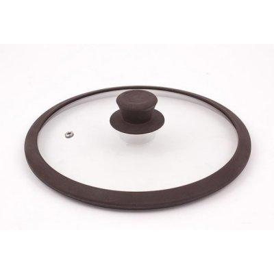 Крышка для кастрюль и сковородок TimA 4824 BR 24см (4824 BR (коричн))