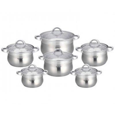 Набор посуды Zeidan Z-51204 (Z 51204)Наборы посуды Zeidan <br>Z-51204 Набор посуды 12 пр.комбинированная полировка  Zeidan<br>