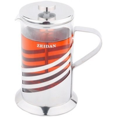 Френч-пресс Zeidan Z-4066 800мл (Z 4066)Френч-прессы Zeidan <br>Френч-пресс 800 мл.,нерж.сталь, термост.стекло Zeidan<br>