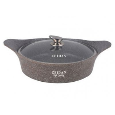 Жаровня Zeidan Z 50259 (Z 50259)Жаровни Zeidan <br>Жаровня со стекл/кр. 5л, d=28см, гранитное покрытие Zeidan<br>