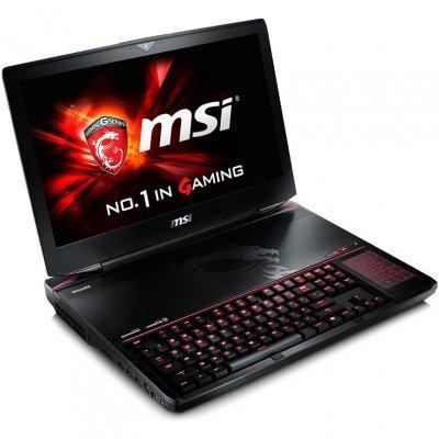 Ноутбук MSI GT80S 6QD-298RU (9S7-181412-298)Ноутбуки MSI<br>Titan SLI i7-6820HK 16Gb 1Tb + SSD 128Gb nV GTX970Mx2 SLI 6Gb 18,4 FHD DVD(BR-RW) BT Cam 5225мАч Win10 Черный<br>