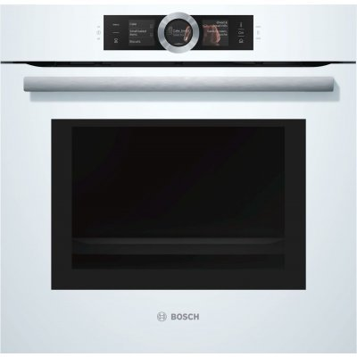 Электрический духовой шкаф Bosch HNG6764W1 (HNG6764W1)Электрические духовые шкафы Bosch<br>электрическая; мощность подключения: 3650Вт; объем: 67л; гриль; конвекция; СВЧ защита от детей; ширина 59.5см; цвет: белый<br>