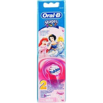 Насадка для зубной щетки Braun Oral-B Kids Stages EB10K (80279918)Насадки для зубной щетки Braun<br>Насадка для зубных щеток Oral-B Kids Stages EB10K (упак.:2шт) для детской зубной щетки, для девочек<br>