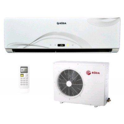 Кондиционер сплит-система Roda RS-V12A/RU-V12A (RS-V12A/RU-V12A)Кондиционеры сплит-системы Roda<br>инверторная настенная сплит-система обогрев и охлаждение мощность охлаждения 3200 Вт / обогрева 3550 Вт режим вентиляции, поддержания температуры, ночной, осушения воздуха потребляемая мощность при охлаждении 997 Вт / обогреве 983 Вт дезодорирующий фильтр, плазменный фильтр, фильтр тонкой очистки уп ...<br>