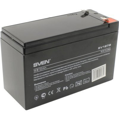 Аккумуляторная батарея для ИБП SVEN SV 12V7.2Ah (SV-012335), арт: 243717 -  Аккумуляторные батареи для ИБП SVEN