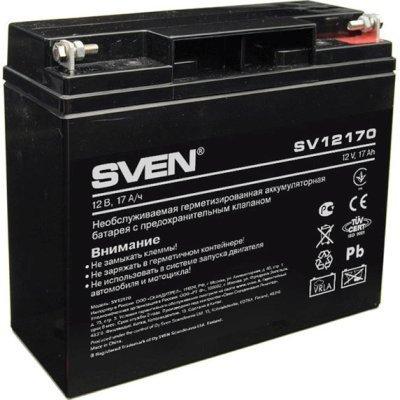 Аккумуляторная батарея для ИБП SVEN SV 12V17Ah (SV-0222017) аккумулятор sven sv 12v 5ah