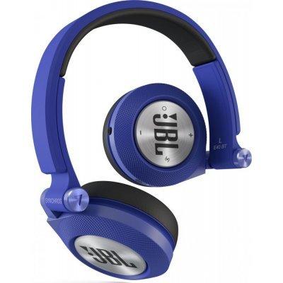 Bluetooth-гарнитура JBL E40BT синий (E40BTBLU)Bluetooth-гарнитуры JBL<br>Наушники беспроводные E40BT, 32 Ом, синие<br>
