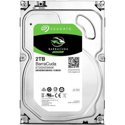 Жесткий диск ПК Seagate 2TB ST2000DM006 (ST2000DM006) жесткий диск seagate original sata iii 2tb st2000dm001 7200rpm 64mb 3 5